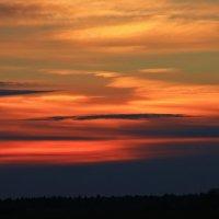 Оранжевый закат :: Евгений (bugay) Суетинов