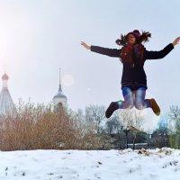 Зима, холода, а в душе всегда весна! :: Семен Кактус