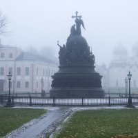 Туман-художник :: Василий Лиманский