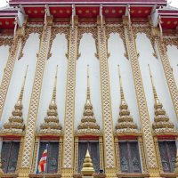 Таиланд. Кон Каен. Стена храма :: Владимир Шибинский