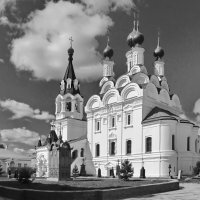 Троицкий собор. Свято-Троицкий женский монастырь. :: Ирина Нафаня