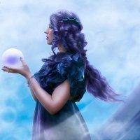 морская дева с огромной жемчужиной (делала для конкурса) :: Veronika G