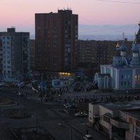 Норильск.Церковь Всех Скорбящих Радость :: victor maltsev