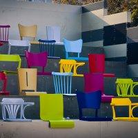 Радуга из стульев :: Ксения Базарова