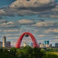 Живописный мост. Москва :: Андрей Спиридонов
