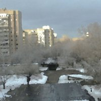 Мокрый снег :: Григорий Кучушев