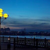 Город засыпающий.... :: Александр | Матвей БЕЛЫЙ
