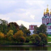 Вид на монастырь со стороны пруда... :: Наталья Агеева