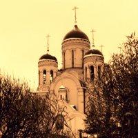 """Первый снег храма """"Утоли моя печали"""" :: Валерий"""