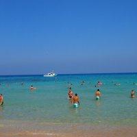 Beach, Protaras. Cyprus :: Natalia Koroleva