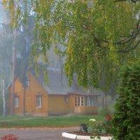 домик в тумане :: Валентина. .