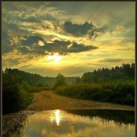 утренний пейзаж :: Дмитрий Анцыферов