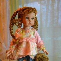 Кукла Ксюша :: Татьяна Калинина