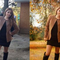 Теплая осень :: Lyuba-Viktoria Халявина.