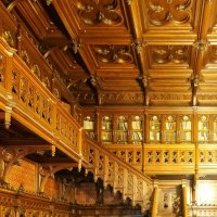 wooden interior :: Дмитрий Карышев