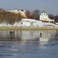 По первому льду... :: Ната Волга