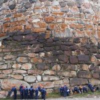 Монастырская стена 16 века. :: Сергей Яснов