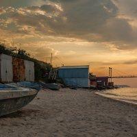 Рассвет на море :: Олег Зак