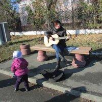 Уличный музыкант :: раиса Орловская