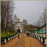 монастырская дорожка :: Дмитрий Анцыферов