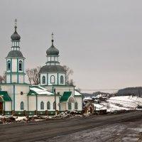 Церковь Богоявления Господня, село Прислониха. :: Владимир Новиков
