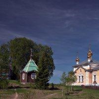 Важеозерский мужской монастырь (Карелия). :: Николай Тренин