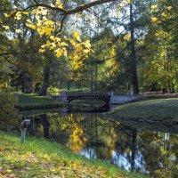 Мостик в Екатериненском парке :: Valerii Ivanov