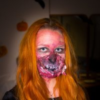 Первая красавица  Хеллоуина :: Игорь