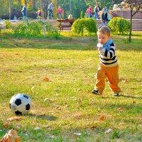 Маленький футболист :: Евгения