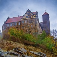 дождлтвый день в Кведлинбурге: Schlossberg :: Andrej Winner