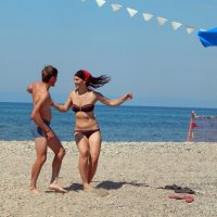 Пляжные танцы2 :: Елена