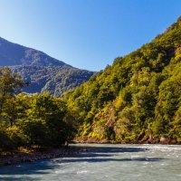 Река Бзыбь. Абхазия. :: Андрей Гриничев