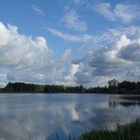 Облака нырнули в озеро :: Святец Вячеслав