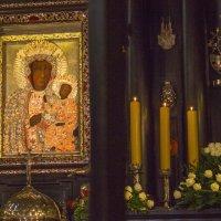 Икона Божьей Матери в Ченстохове Польша :: Ирина Богатырёва