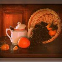 Оранжевые нотки к осенней непогодке :: Светлана Воинкова
