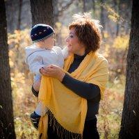 мама и сына :: Ilona An