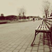 самотня лавочка.. :: Мирослава Хомич