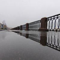 Отражения, уходящие в туман :: Вера Моисеева