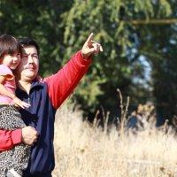 С дочкой :: Бахытжан Акботаев