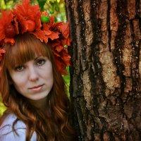Девушка-осень :: Nastya Dudko