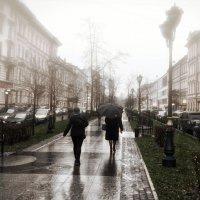 туманная  улица :: Владимир Иванов ( Vlad   Petrov)
