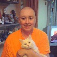 Двойной  портрет. После химиотерапии. 2009 г. :: Tata Wolf