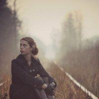 Женя в тумане :: Кира Пушечкина