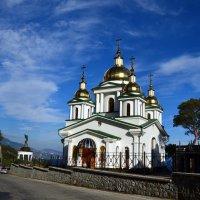 Храм в Верхней Ореанде :: Ольга Голубева