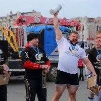 Победа! Сильнейший человек Приморья 2014 г. :: Александр Коряковцев