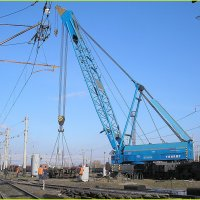 125-и тонный ж.д.кран в работе :: sergey.redchenko Сергей Редченко
