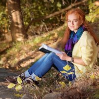 Солнечная девочка. :: Оксана Зарубина