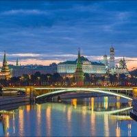 Россия. Москва. Кремль и Большой Каменный мост. :: Юрий Дегтярёв