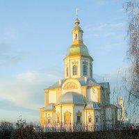 Благовещенский собор в лучах рассвета :: Elena Izotova
