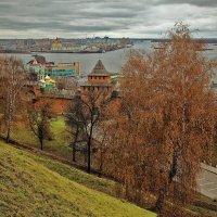 Слияние Оки и Волги :: Viacheslav Birukov